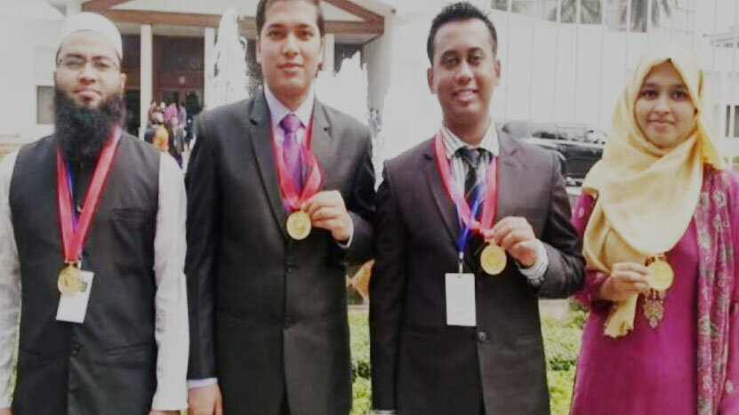 Four students from Chuet get gold medal from the Prime Minister