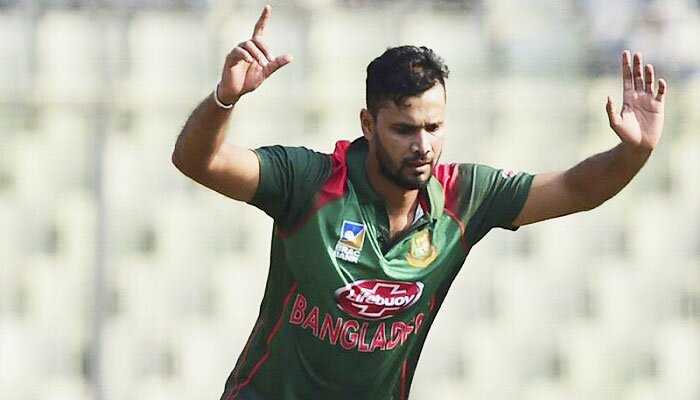 Mashrafe captains ODI series against Zimbabwe